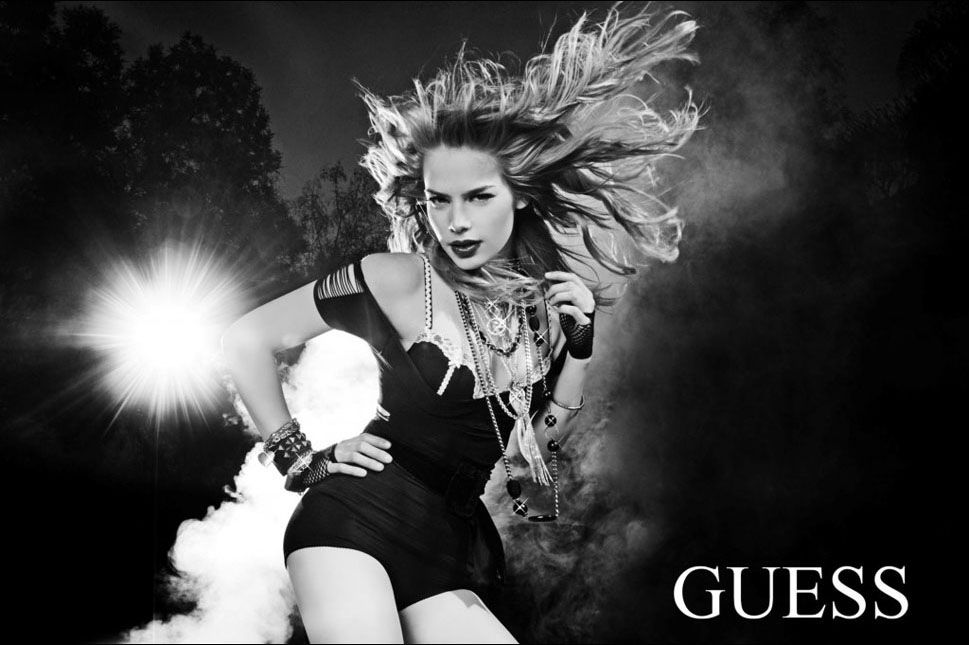 Guess ad campaign by famous fashion photographer